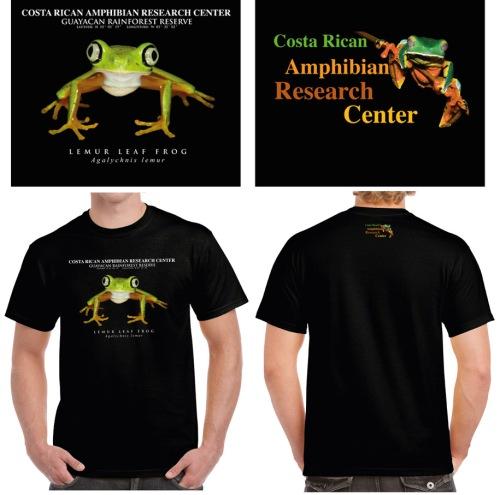 Lemur Leaf frog shirt