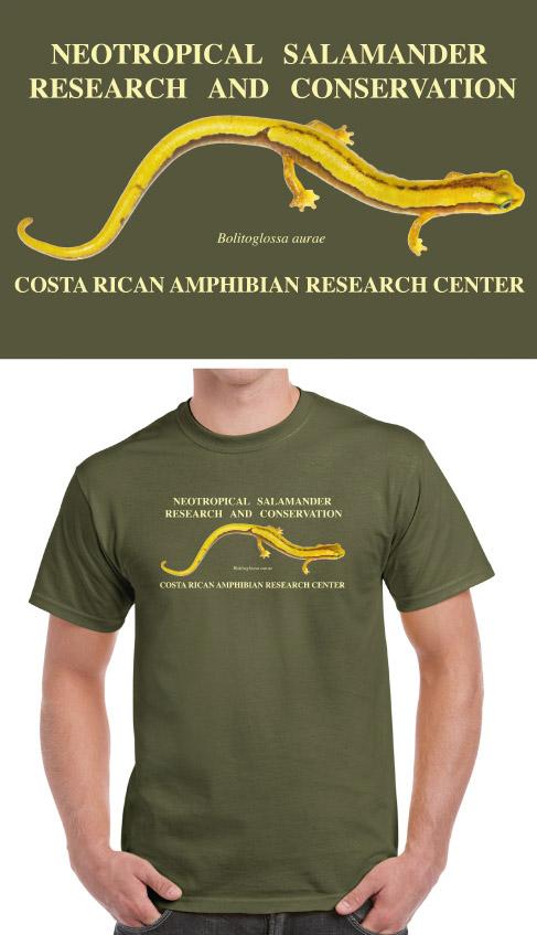 Salamander shirt